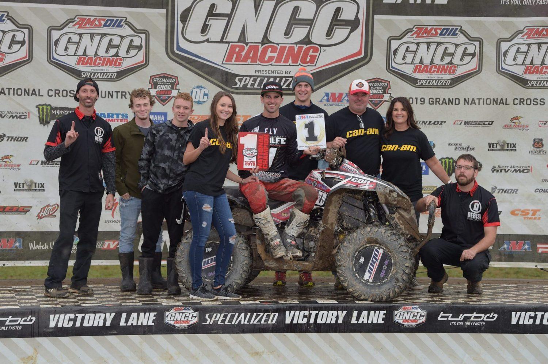 <p>Landon Wolfe GNCC 4X4 Pro Champion</p>